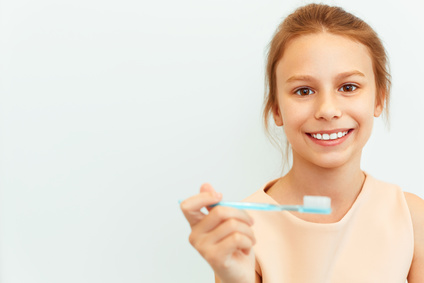 子供の歯磨き指導